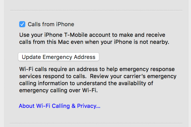 How to enable 'Calls on Other Devices' like iPad or Mac