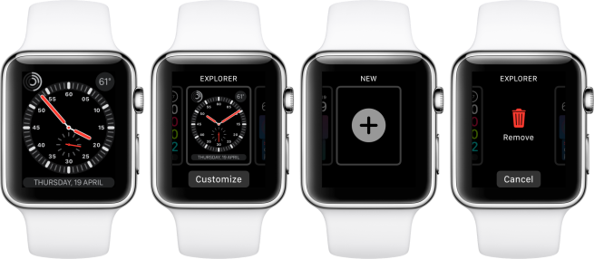 how to change your clock face on apple watch