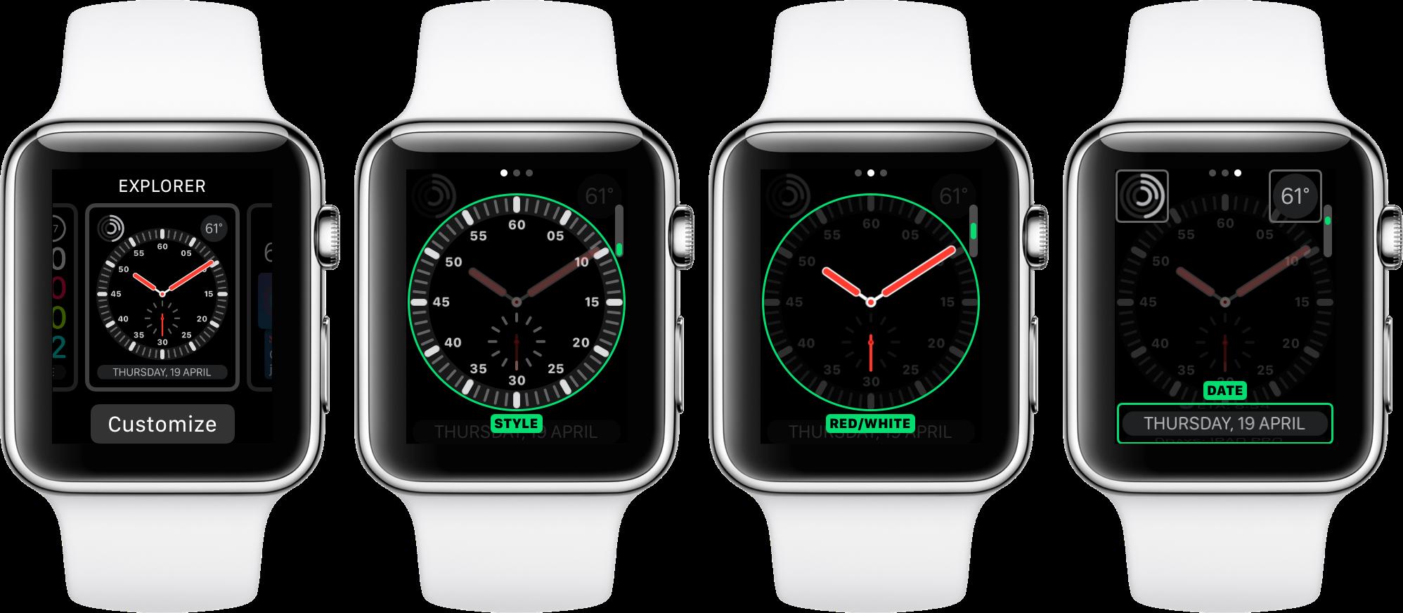 quadranti per apple watch