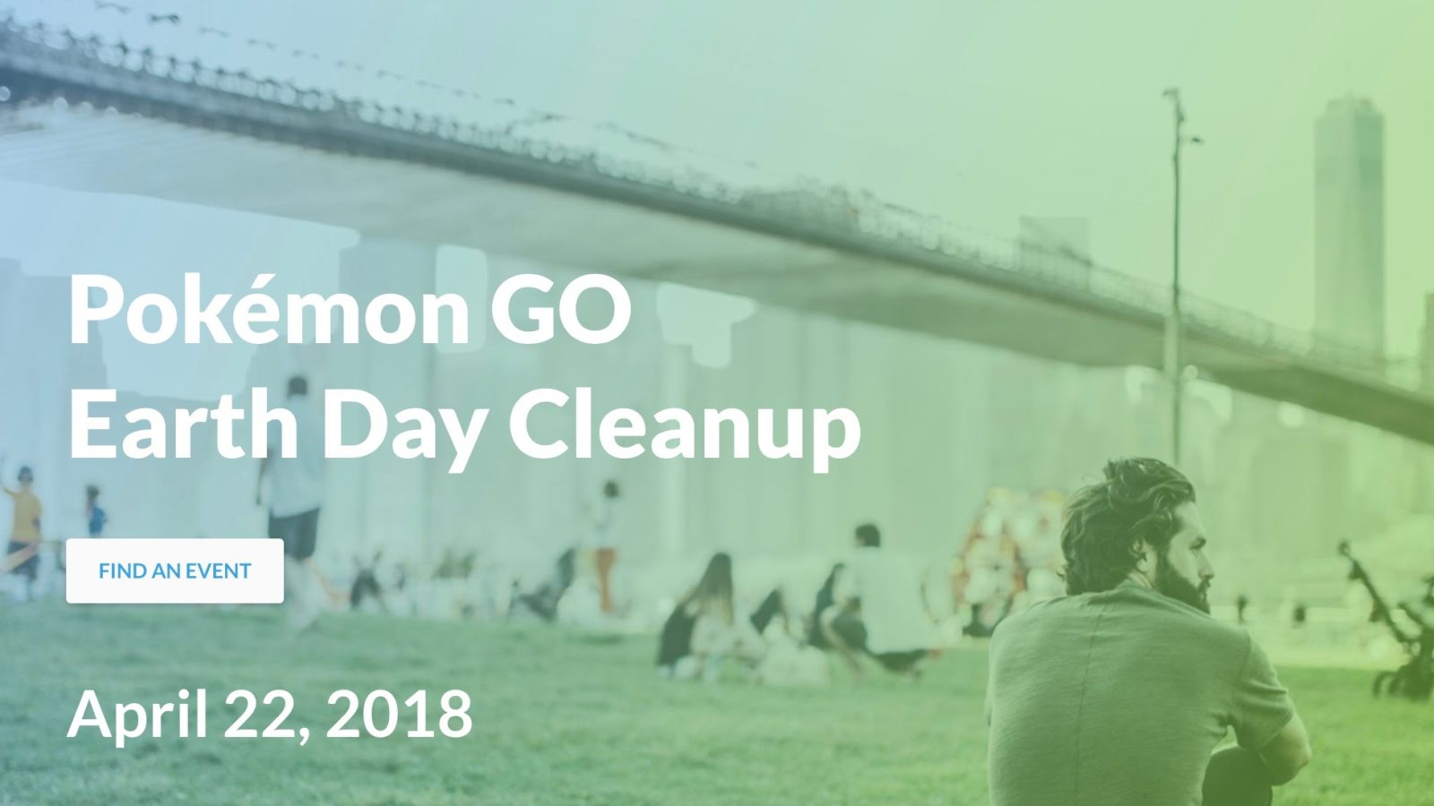 Niantic plans Pokémon GO Earth Day Cleanup events around the