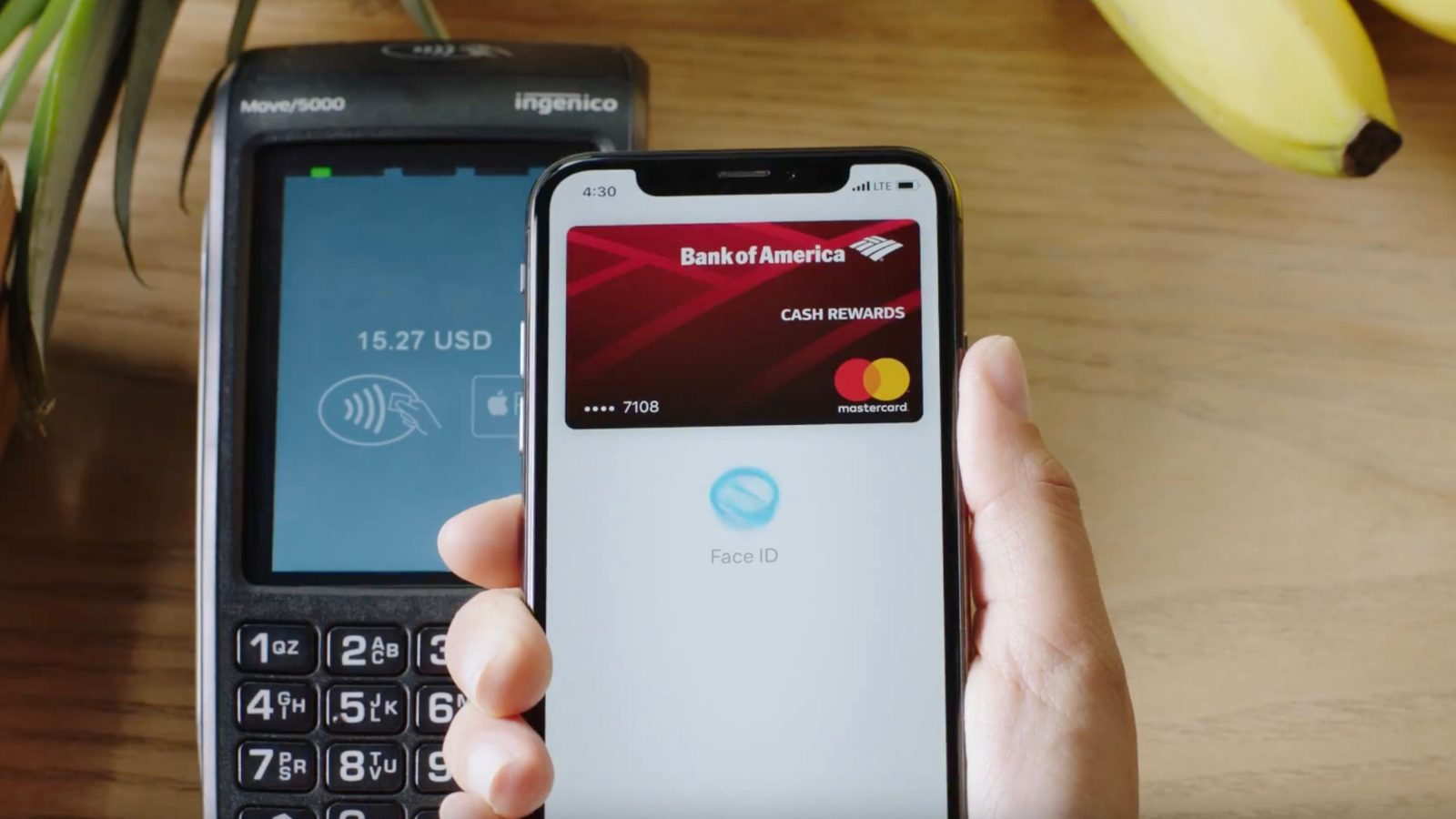 check out 9d779 459d5 Apple continues to tout Apple Pay in latest iPhone X + Face ID ad ...