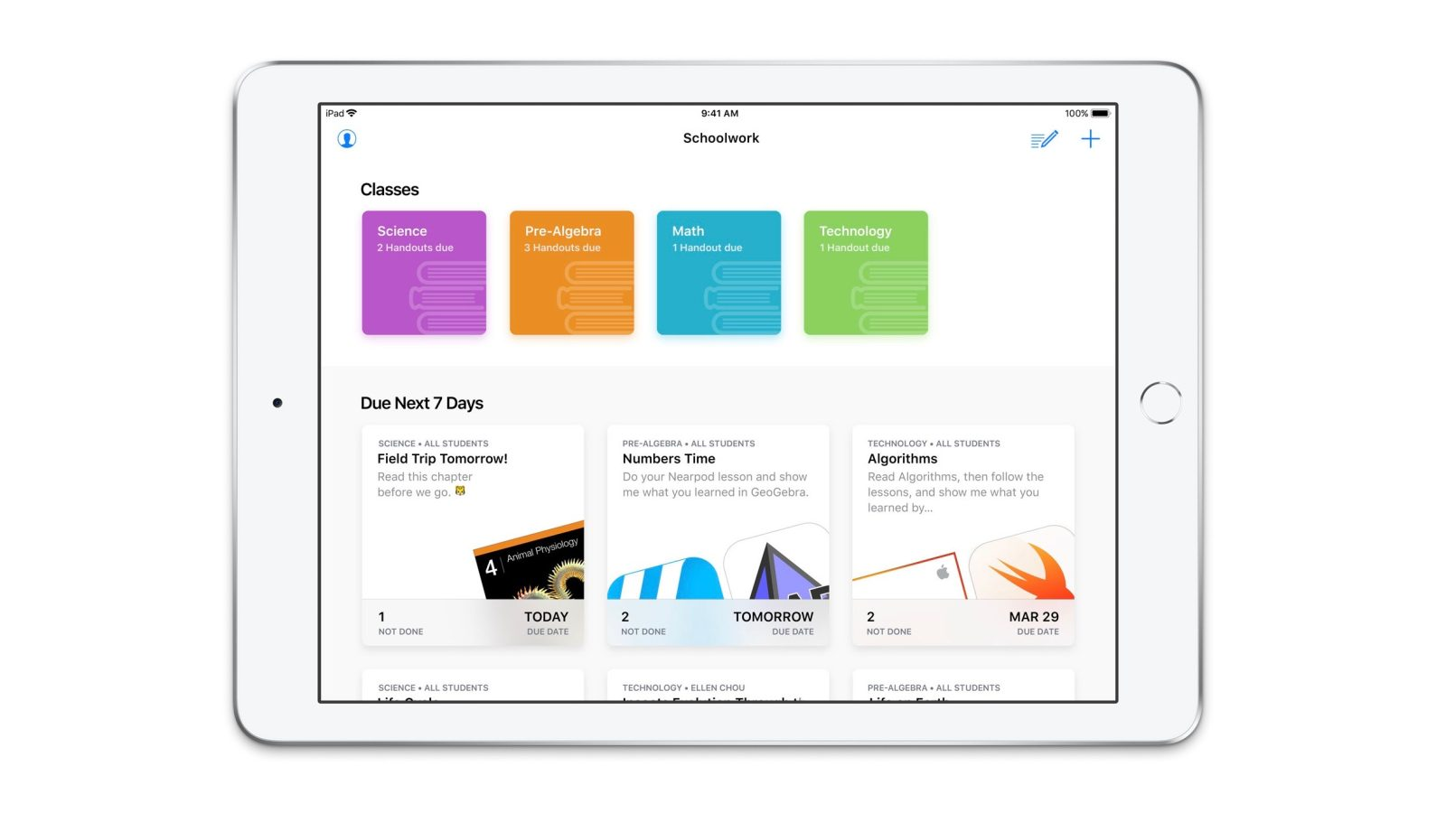 Hands-on with Apple\'s new Schoolwork app on iPad [Gallery] | 9to5Mac