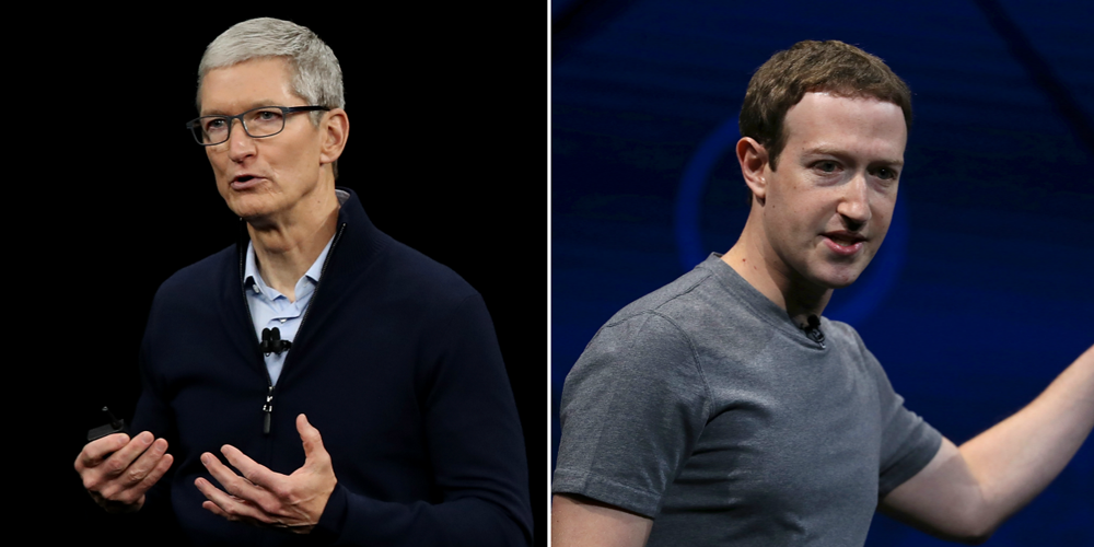 Mark Zuckerberg joins Tim Cook in calling for GDPR-like privacy regulation in the US