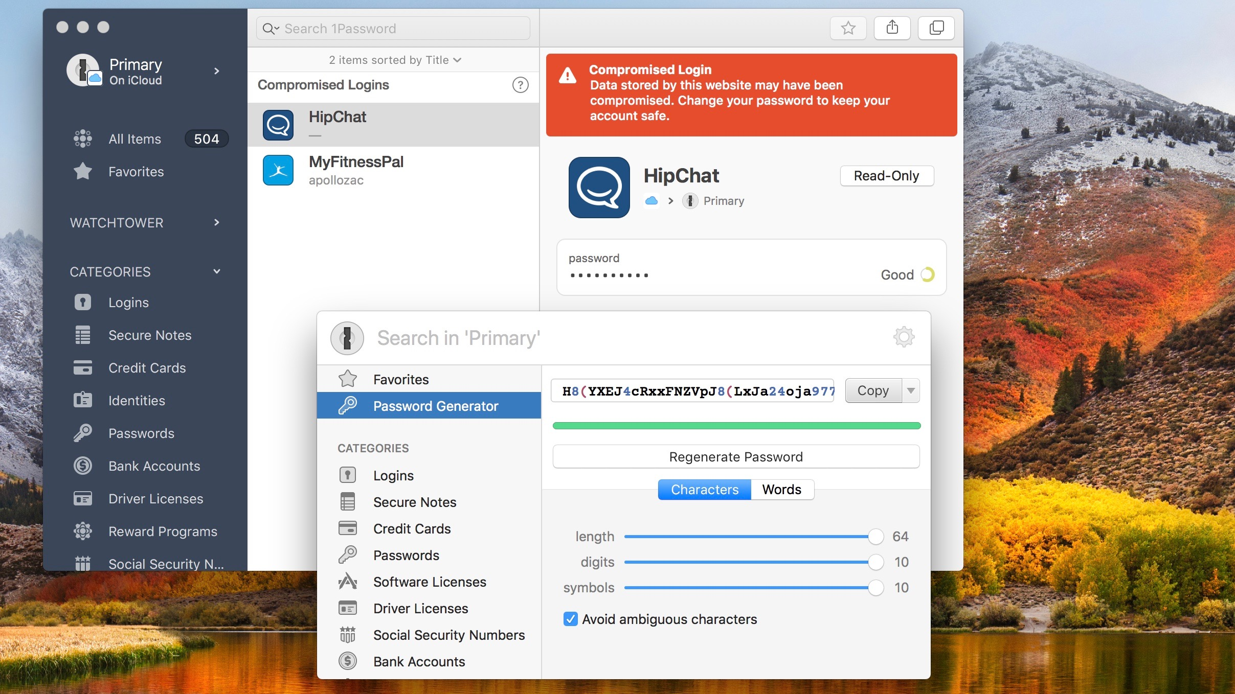 How much is a 1Password 5 for students license?