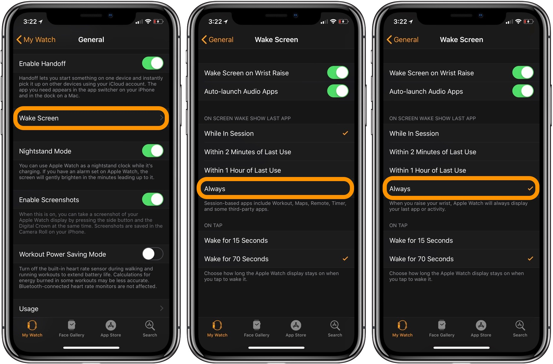 Apple Watch: How to always show last app used on wake screen - 9to5Mac