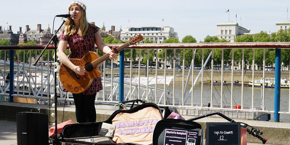 A city-wide initiative in London means you can now give to street musicians with Apple Pay