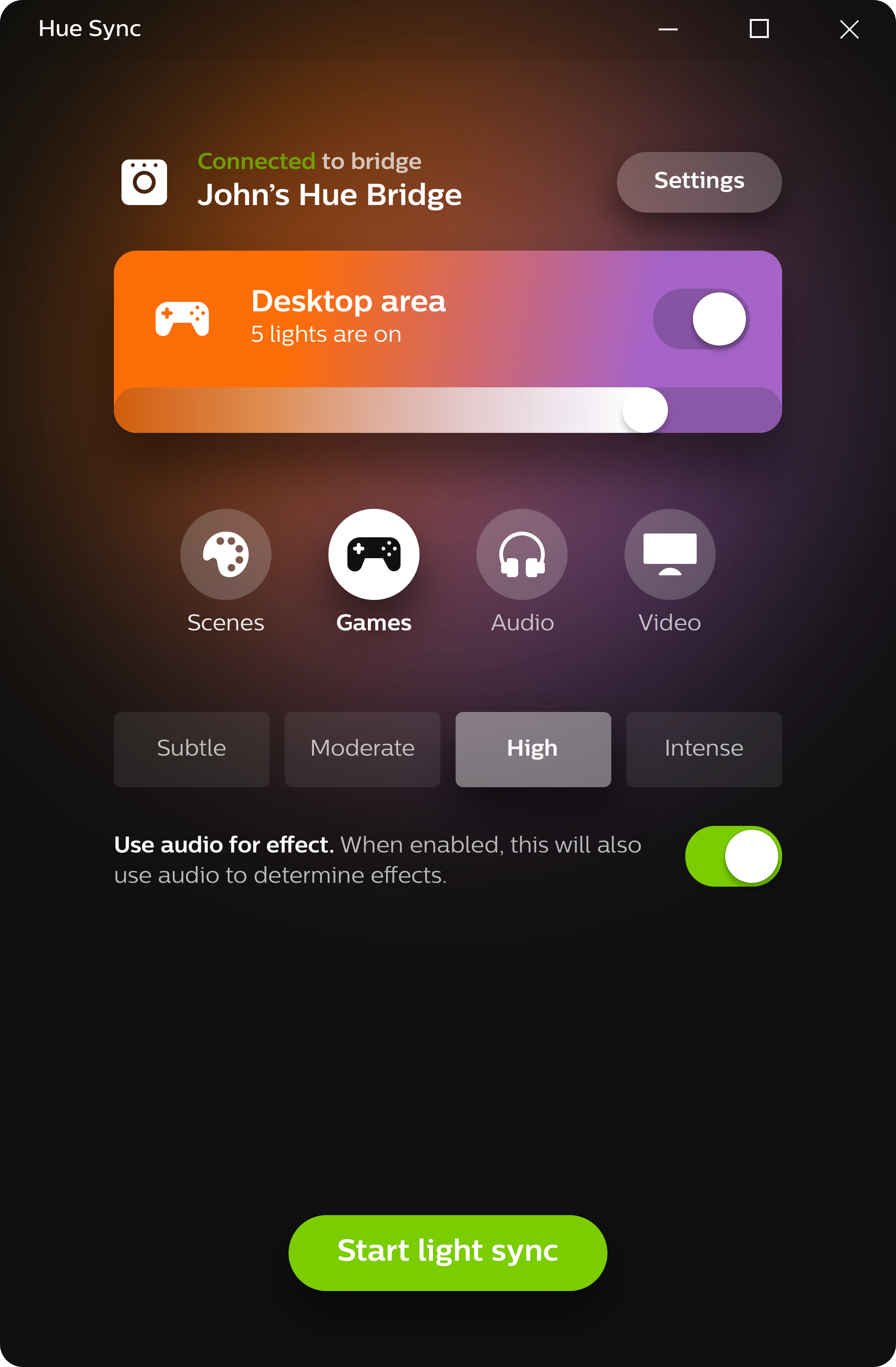 Philips Hue Sync Now Available For Mac App Syncs Lighting To Games Bulbs By One Way Switch Parallel Circuit English Video Tutorial Daily