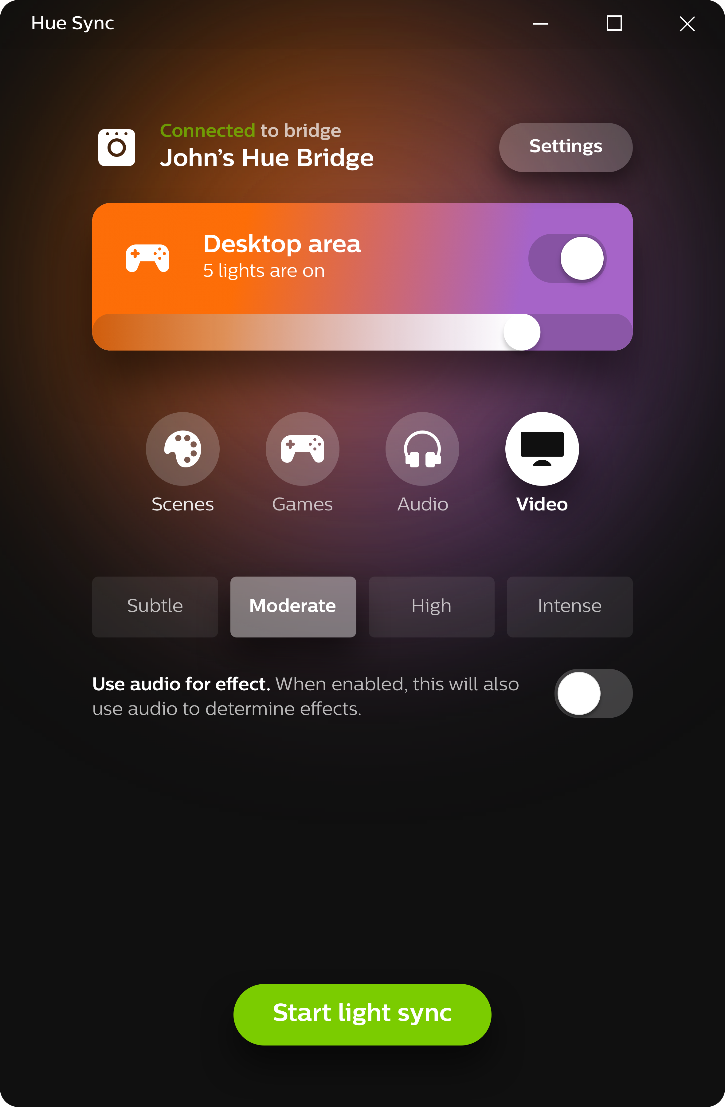 Philips Hue Sync now available for Mac, app syncs lighting