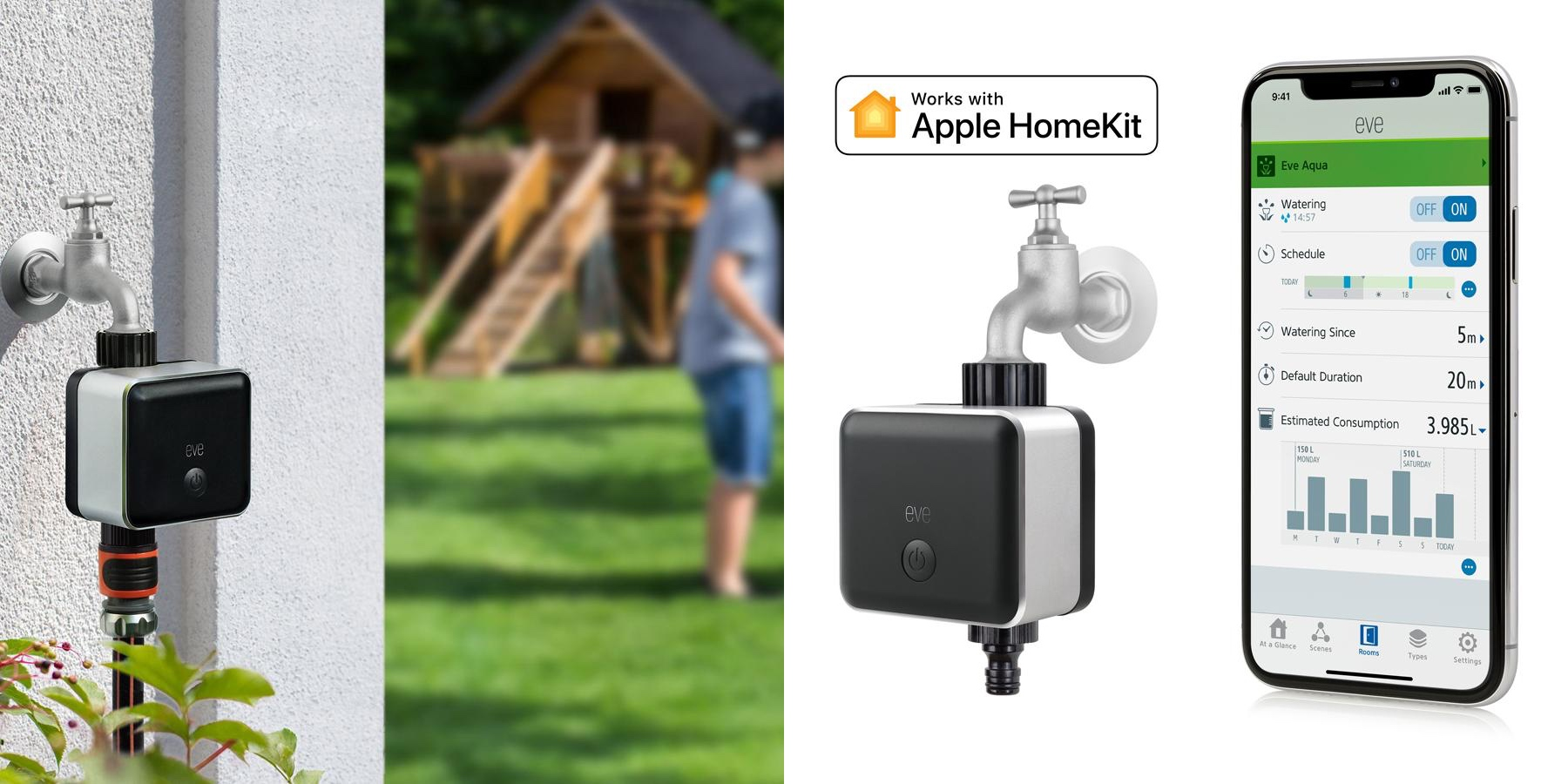 Elgato Launches Eve Aqua To Let You Control Your Garden Hose And Sprinklers With Homekit 9to5mac