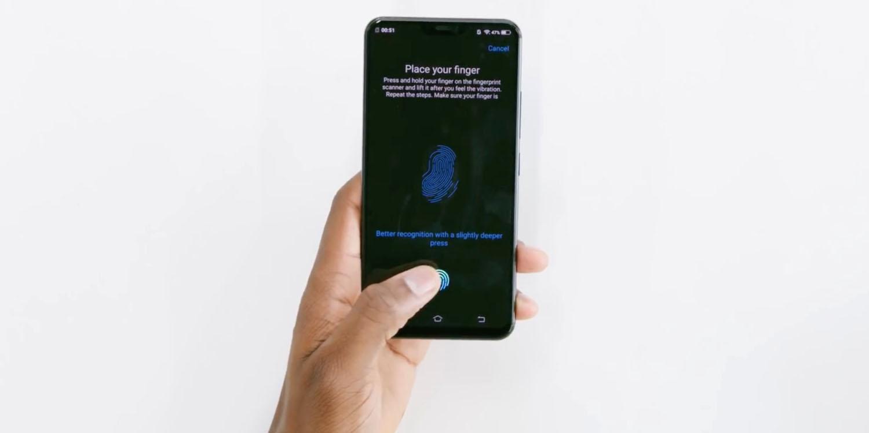 Tests of embedded fingerprint reader show that option could have