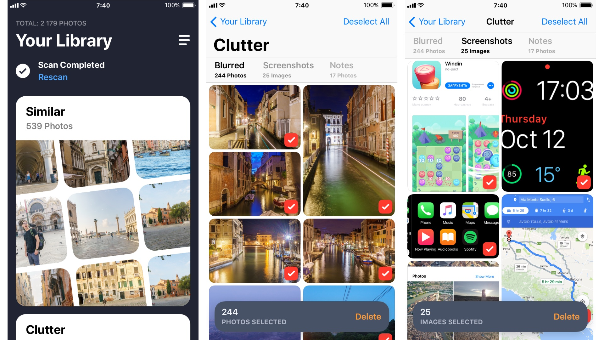 Gemini Photos uses machine learning to reduce iPhone clutter and