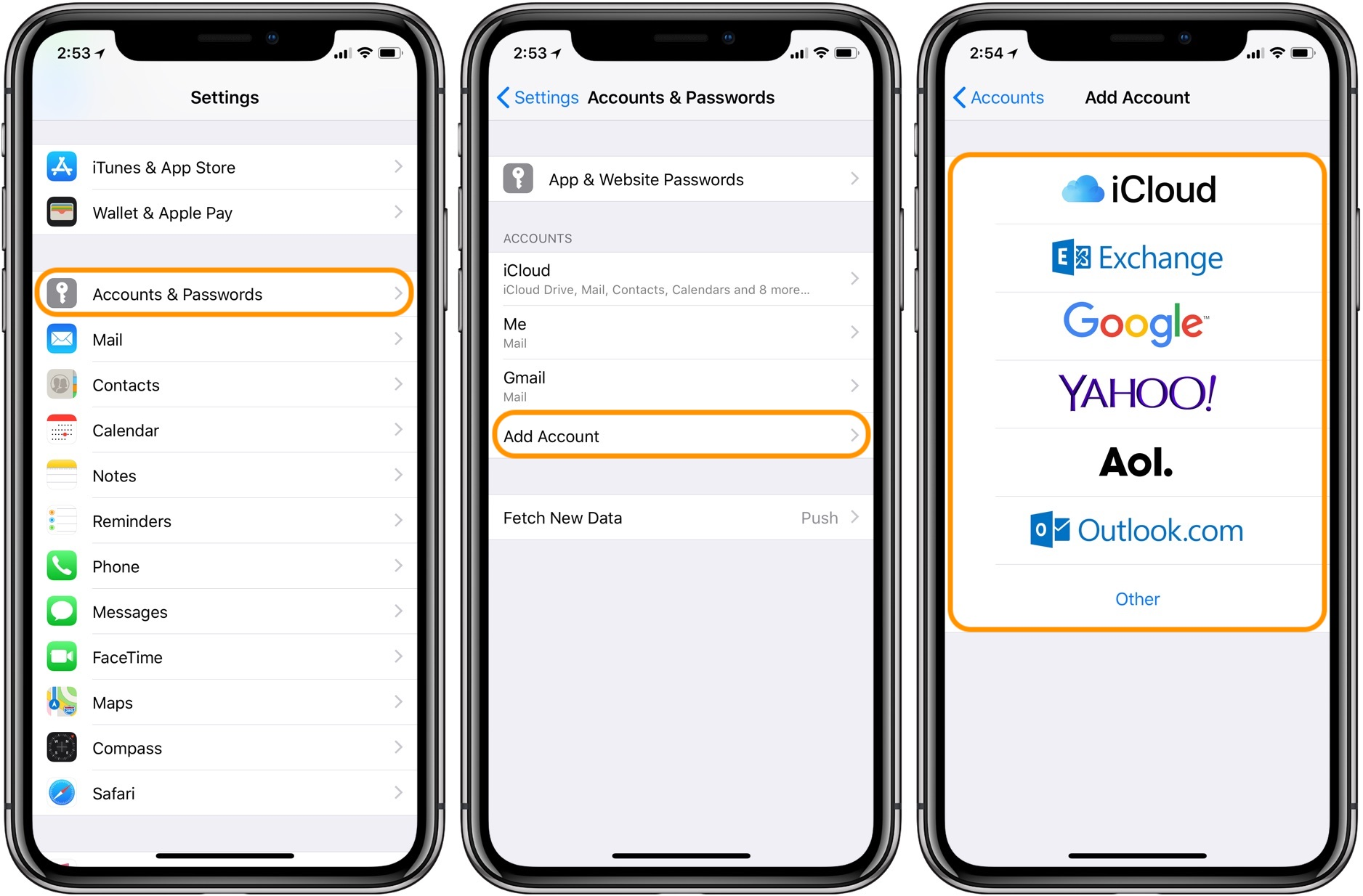 iphone how to add email 9to5mac