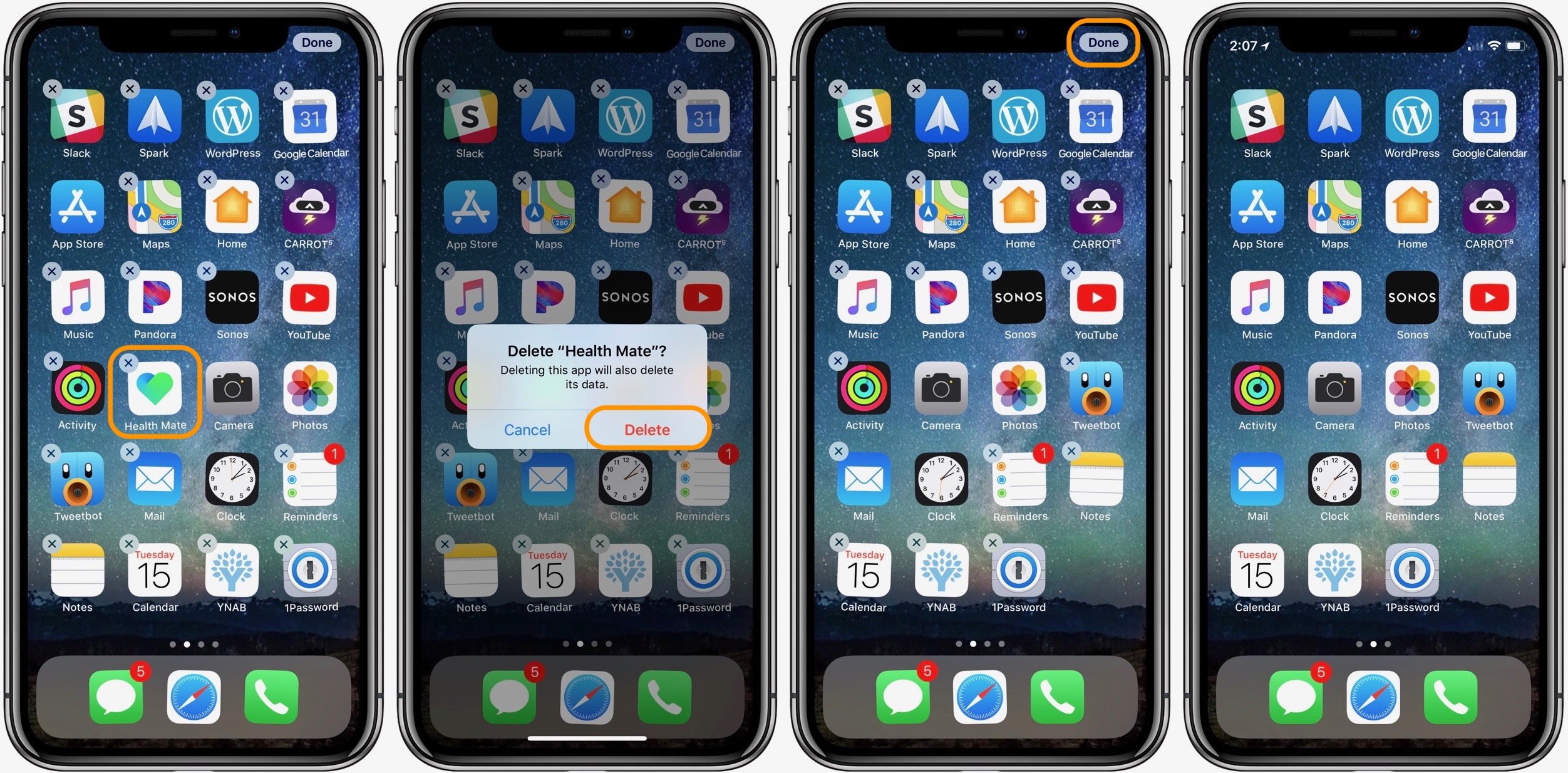 iphone how to delete apps and set up automatic offloading 9to5mac