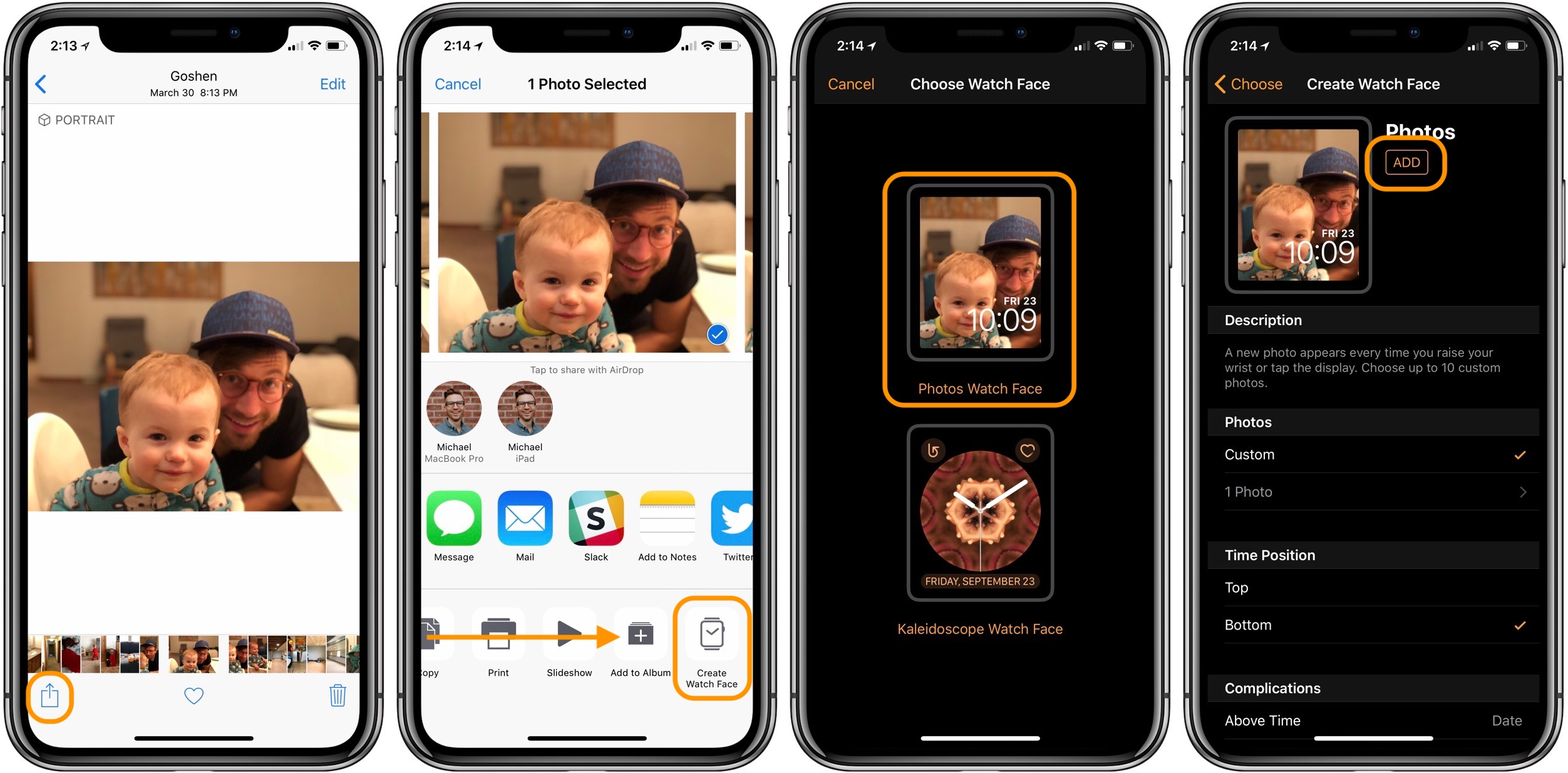 Apple Watch: How to set photo as watch face - 9to5Mac