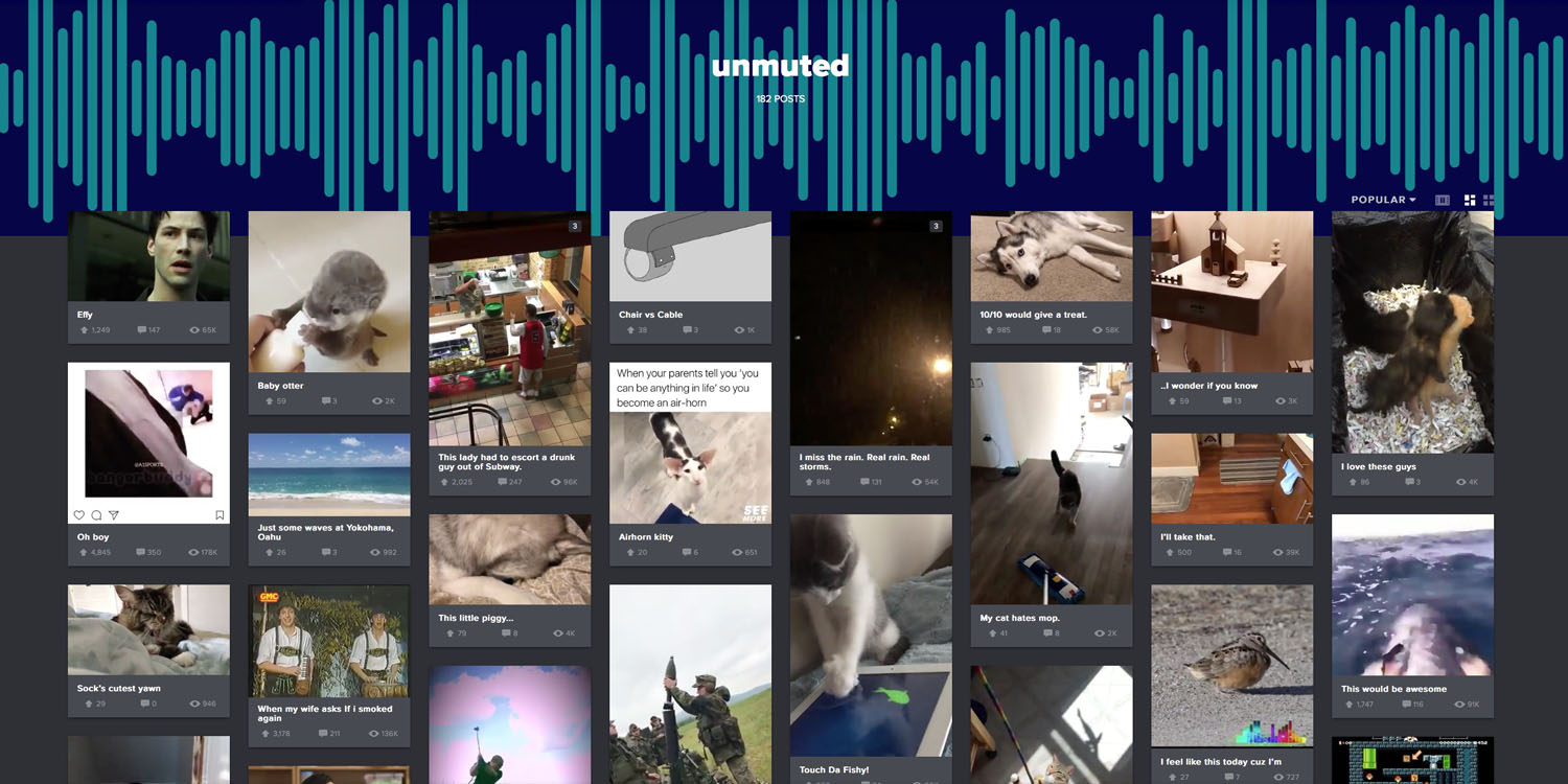 Imgur allows iOS users to upload videos with sound, ahead of other ...