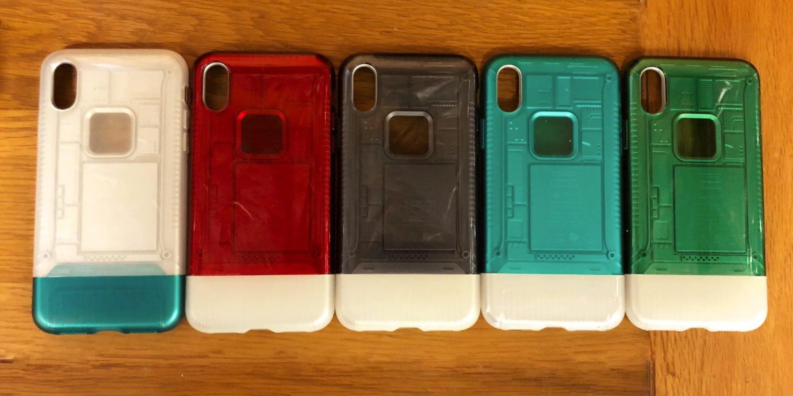 Spigen 9to5mac spigen announces special edition iphone x cases echoing imac g3 and original iphone design fandeluxe Gallery