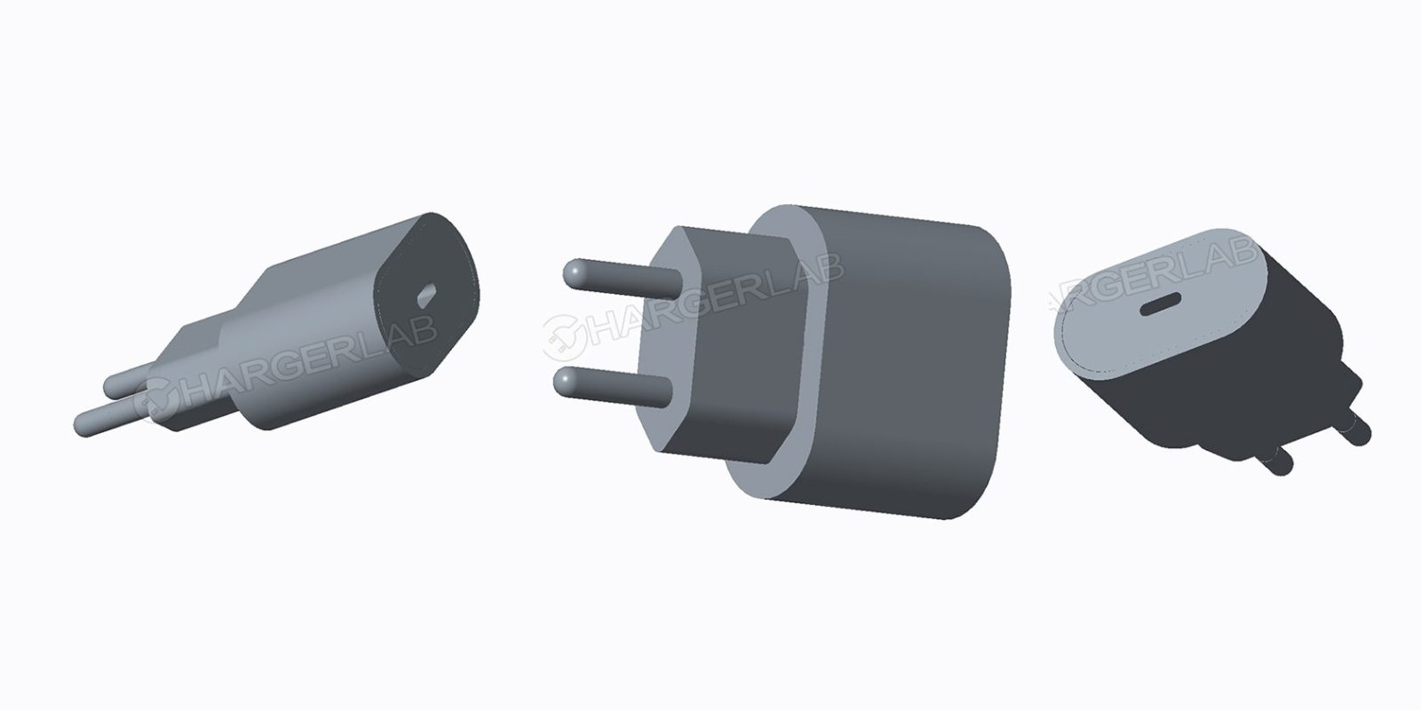 Renders Claim To Show New 18w Apple Usb C Charger Will Be Bundled Picture The Power Jack Receiving End Plugs In Our Adapter With 2018 Iphones