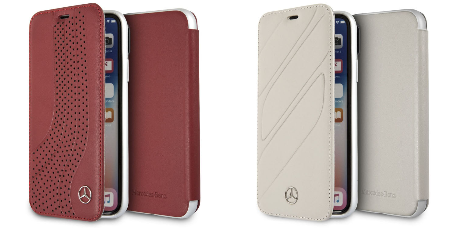 more photos 2fdd7 8e665 Mercedes offering upmarket iPhone cases in leather, aluminum and ...
