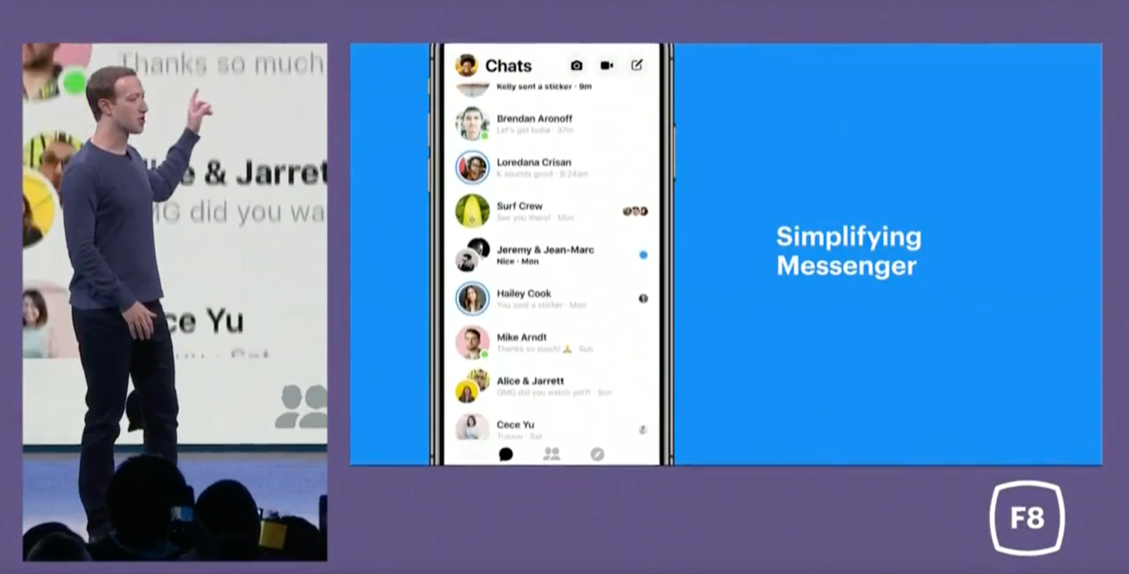 Updated Facebook Messenger app with redesign rolling out to most