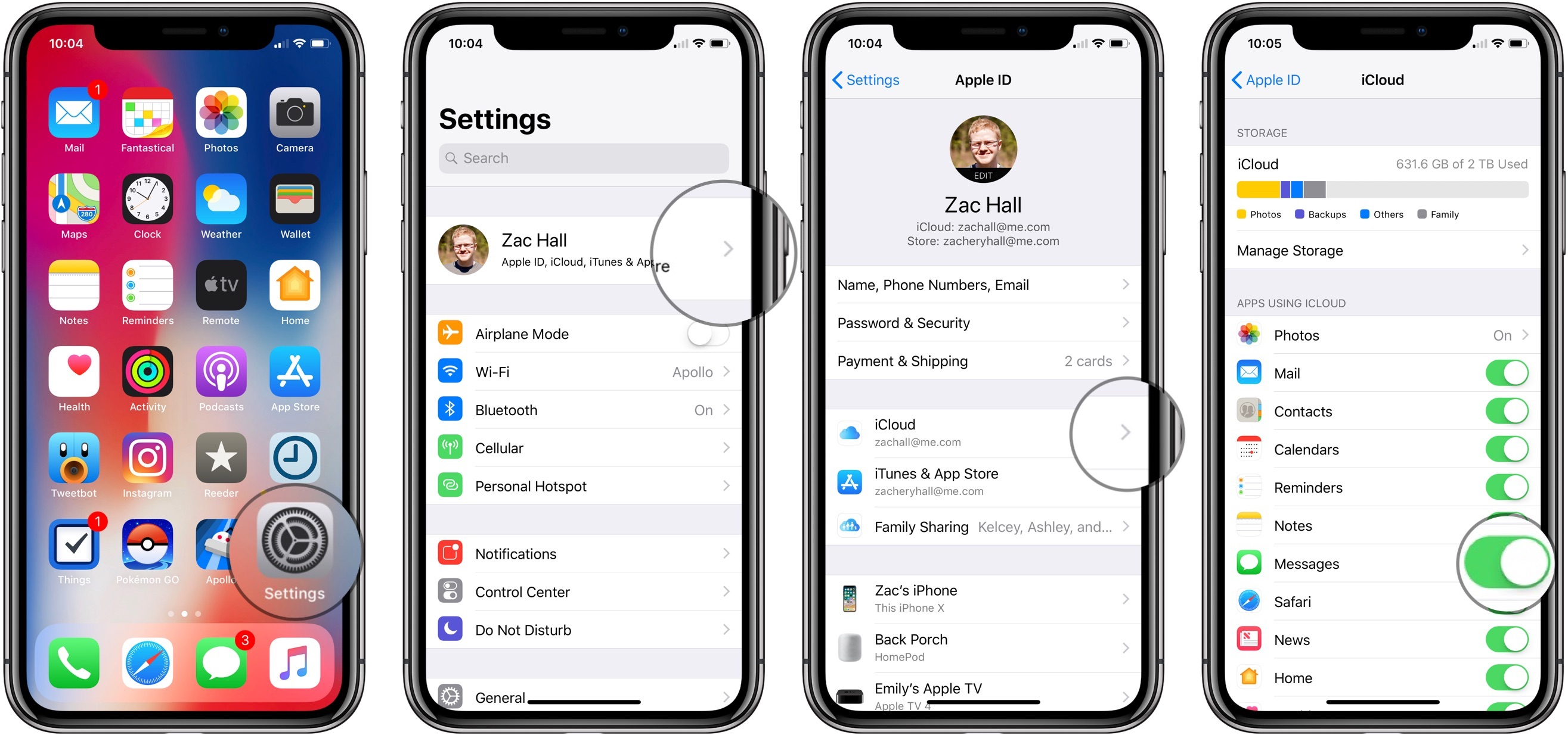 Messages in iCloud arrives with iOS 11 4, here's how it