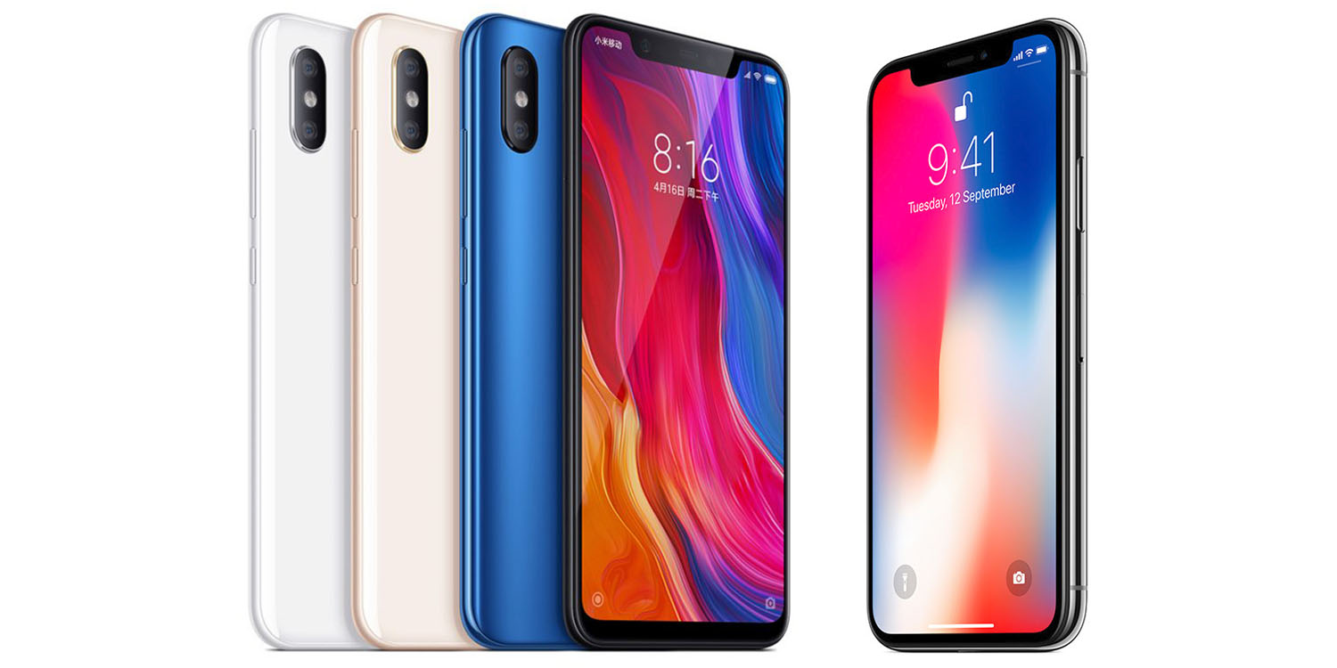 Apple clone-maker Xiaomi's new Mi 8 closely mimics the
