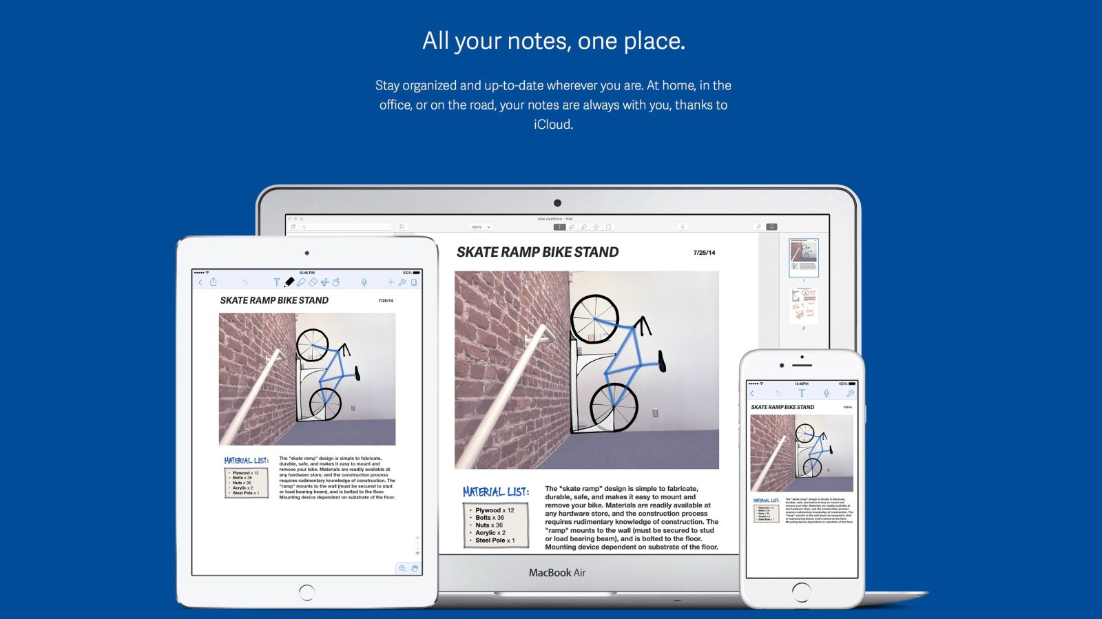Notability for iOS adds handwriting search & conversion, side-by-side view, more