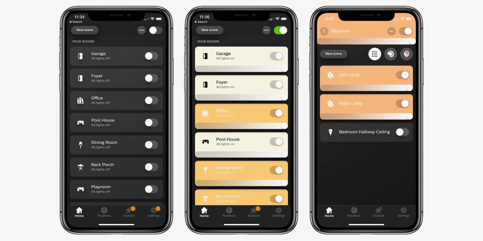 Philips Hue 3 upgrades smart lighting app with refined design, fast