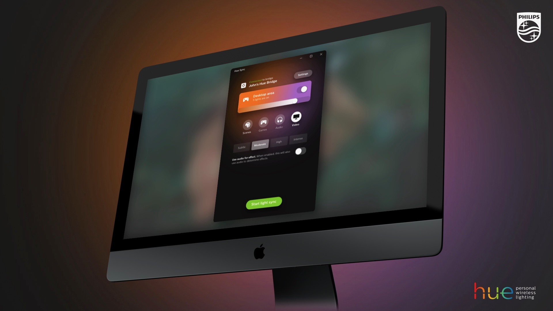 Philips Hue Sync Now Available For Mac, App Syncs Lighting To Games,  Videos, And Music