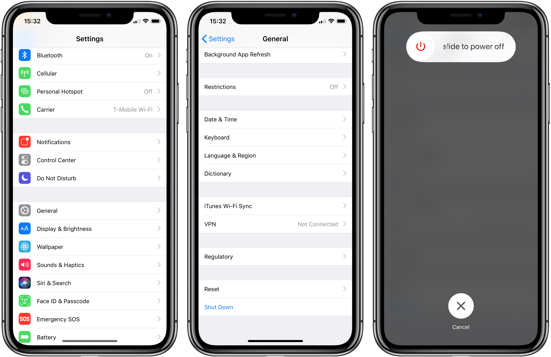 How To Turn Off Iphone X 9to5mac
