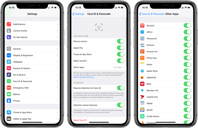How to manage Face ID access for specific apps - 9to5Mac