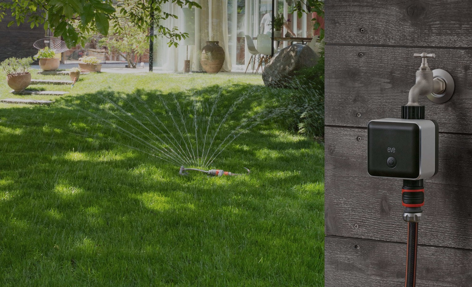 elgato launches eve aqua to let you control your garden hose and