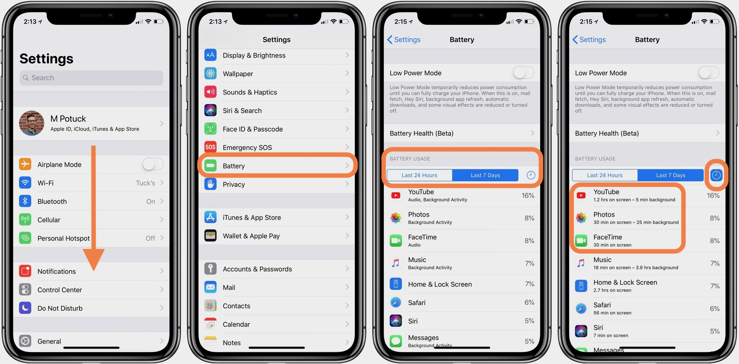 How to tell what iphone you have through settings