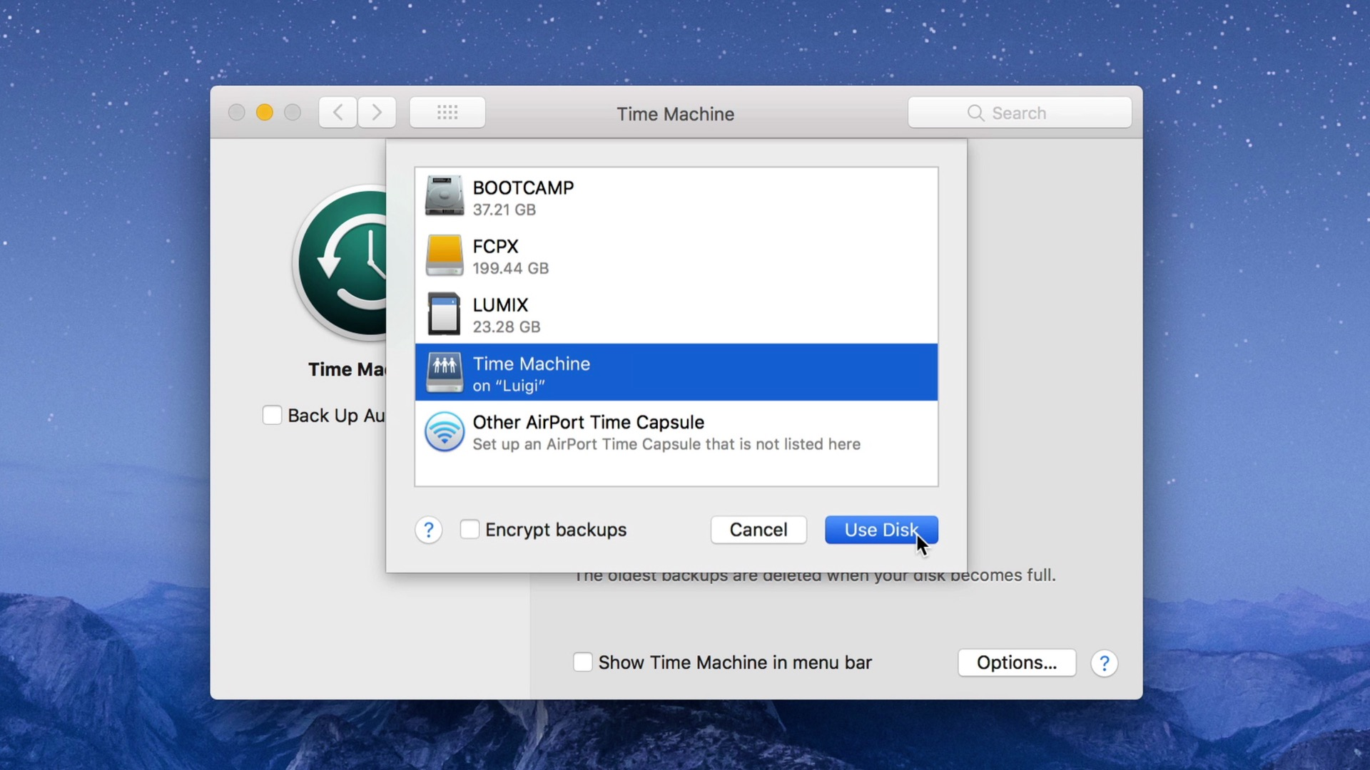 Back to the Mac 009: How to use a Synology NAS for Time Machine