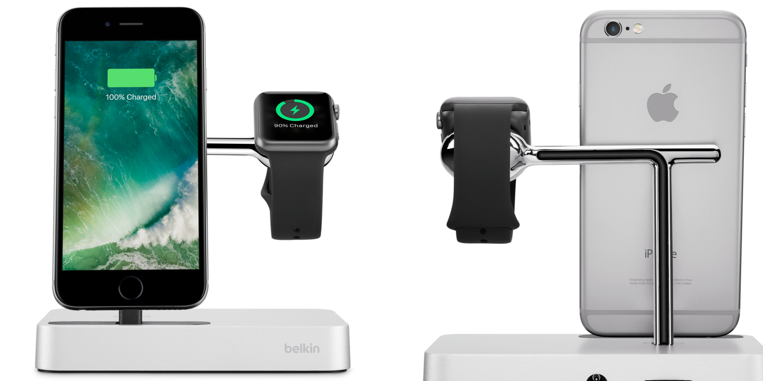 belkin valet charge dock for apple watch iphone