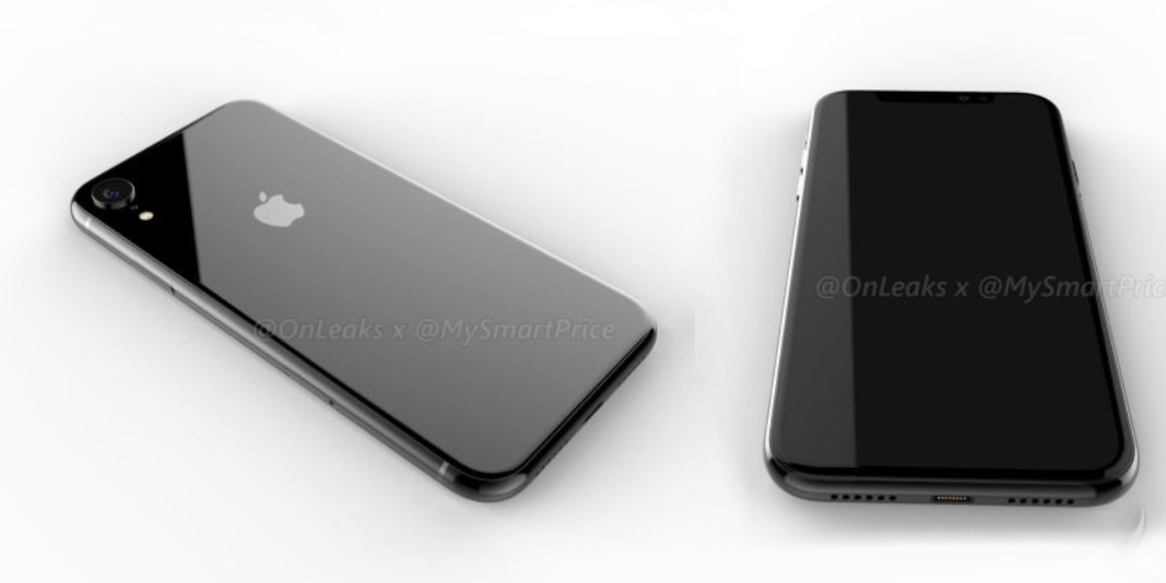 Renders imagine 2018 6.1-inch LCD iPhone X with single rear camera and aluminum frame
