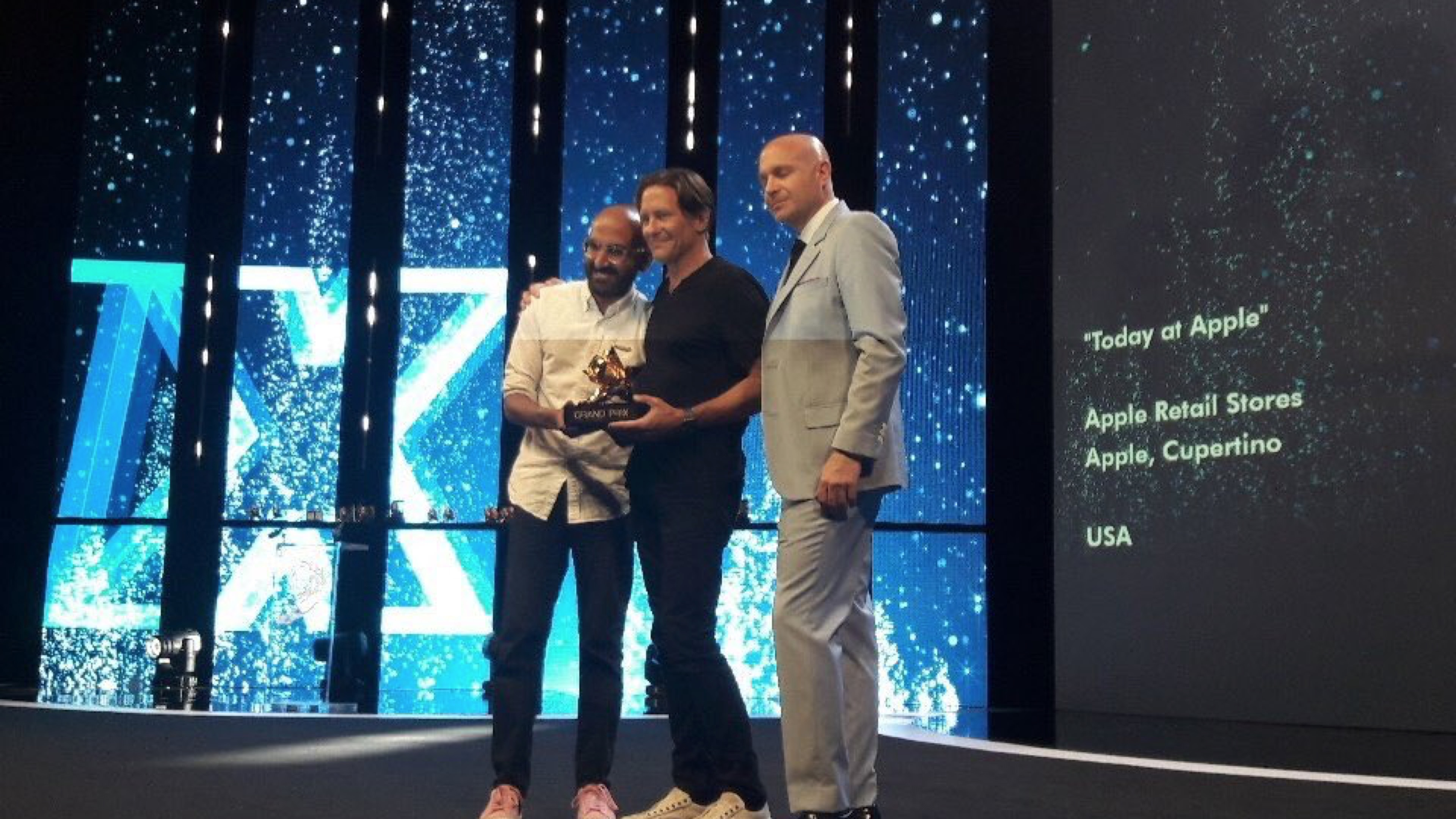 Here are all of the awards Apple took home at Cannes Lions 2018