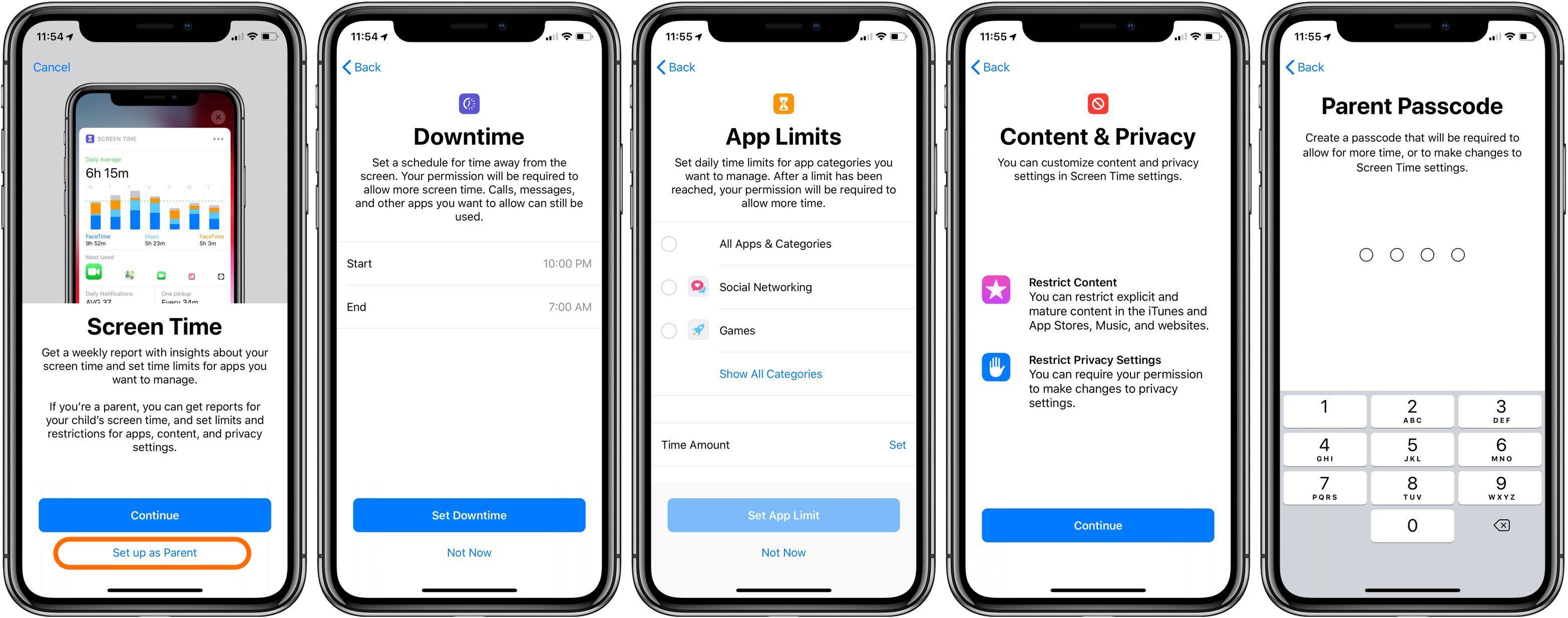 Ios app for parental control