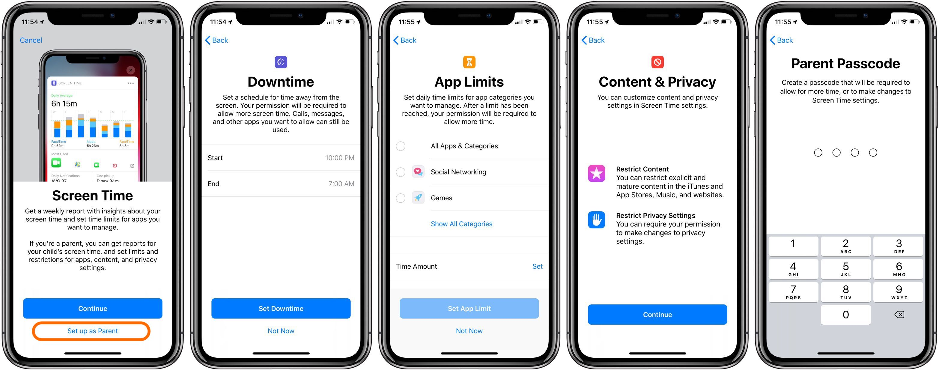 iOS 12: How to set up Screen Time as a parent on a child's iPhone or iPad