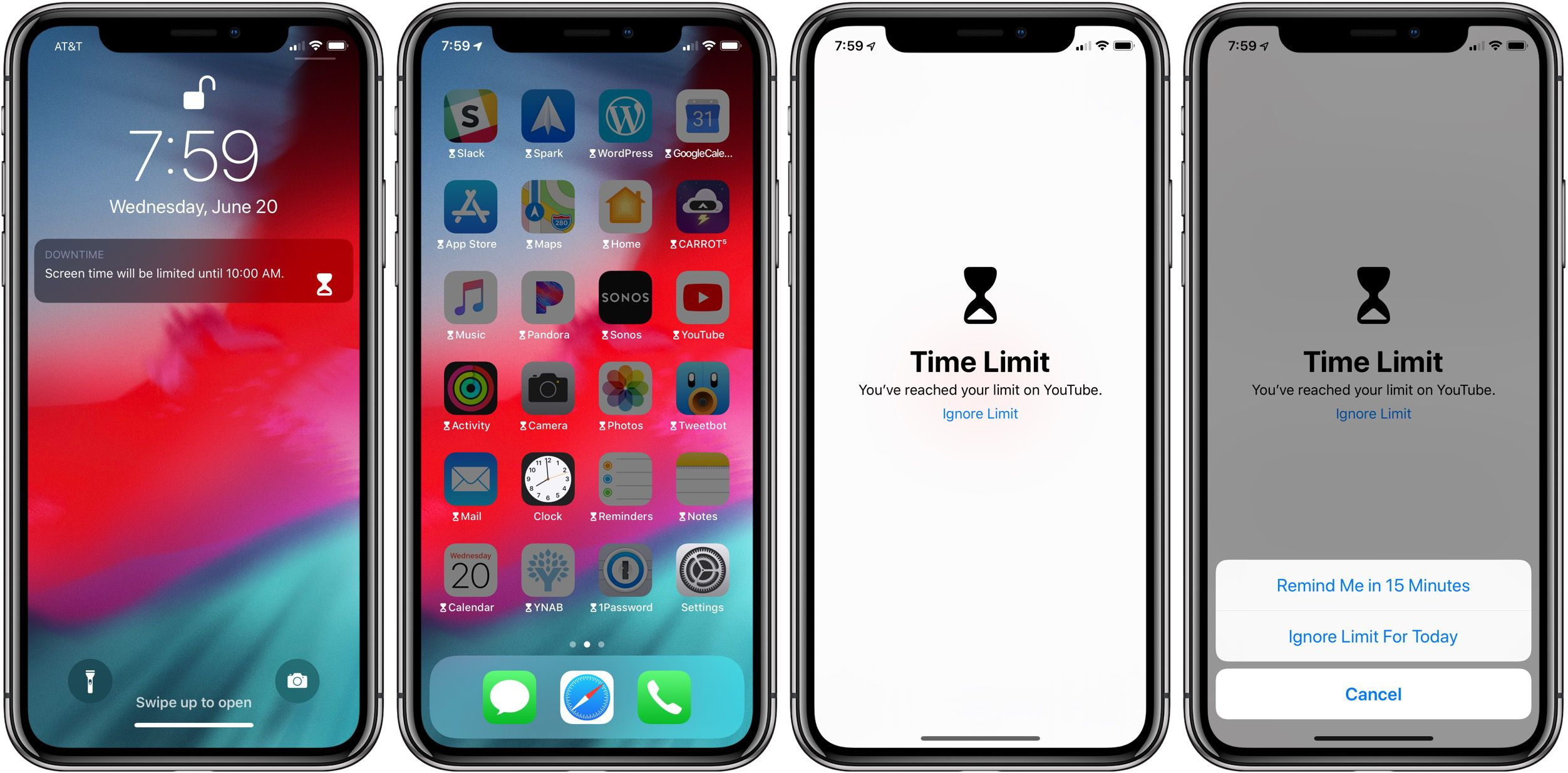 iphone screen timeout ios 12 how to set up screen time as a parent on a child s 12296