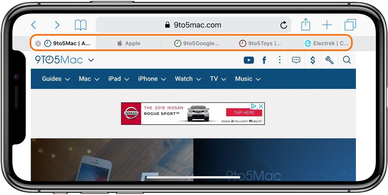 iPhone & iPad: How to show Safari tab icons in iOS 12 - 9to5Mac