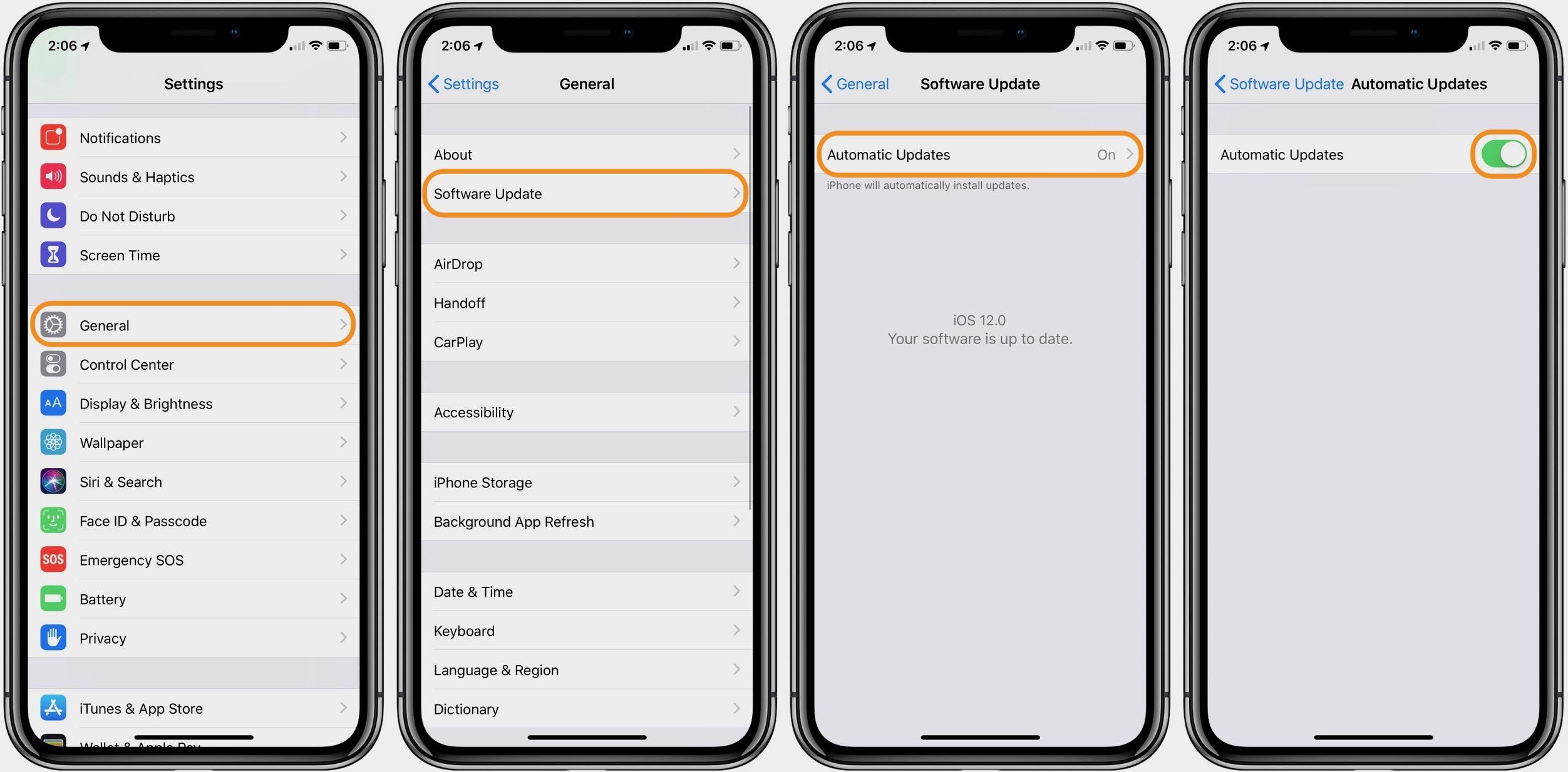 iphone update 12 1