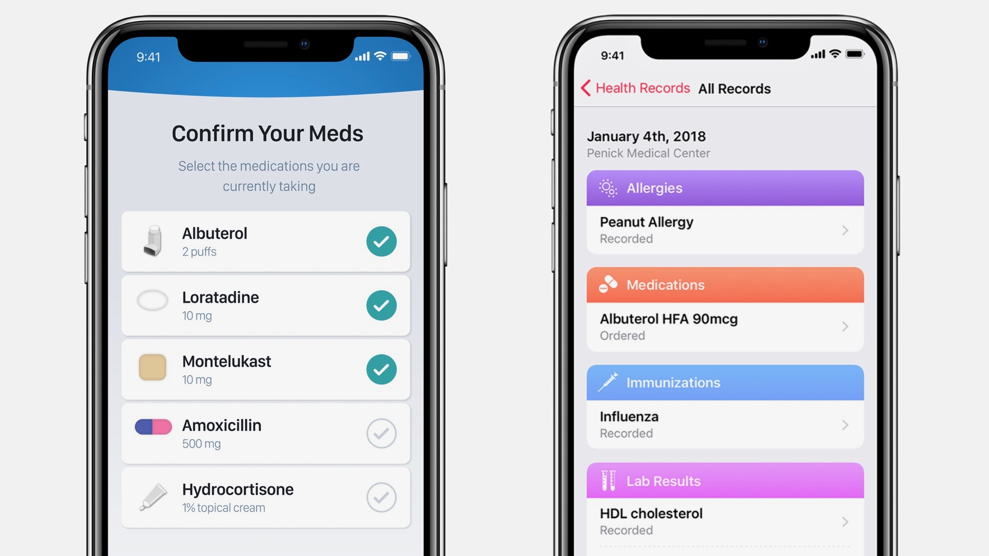 Apple's new Health Records feature touts nearly 80 supported health systems