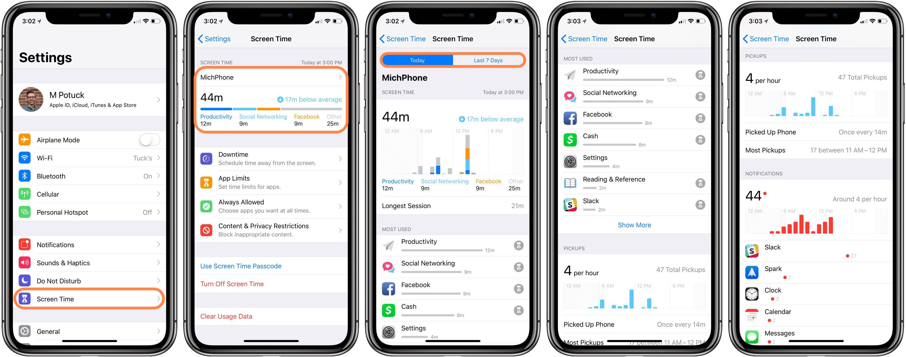 screen timeout iphone ios 12 how to use screen time on iphone and 9to5mac 12926
