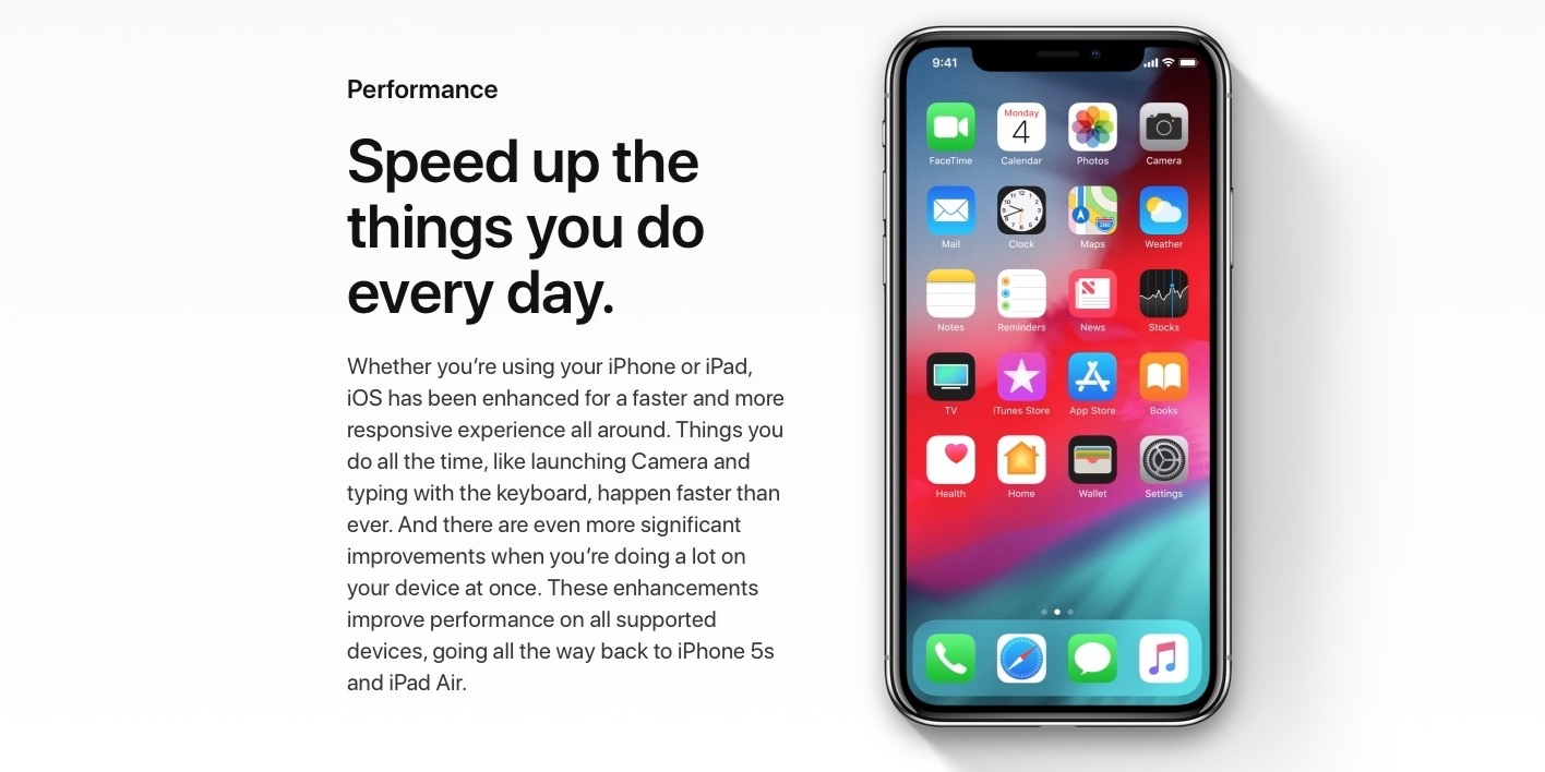 iOS 12 speed test: Here's how fast iOS 12 runs on older