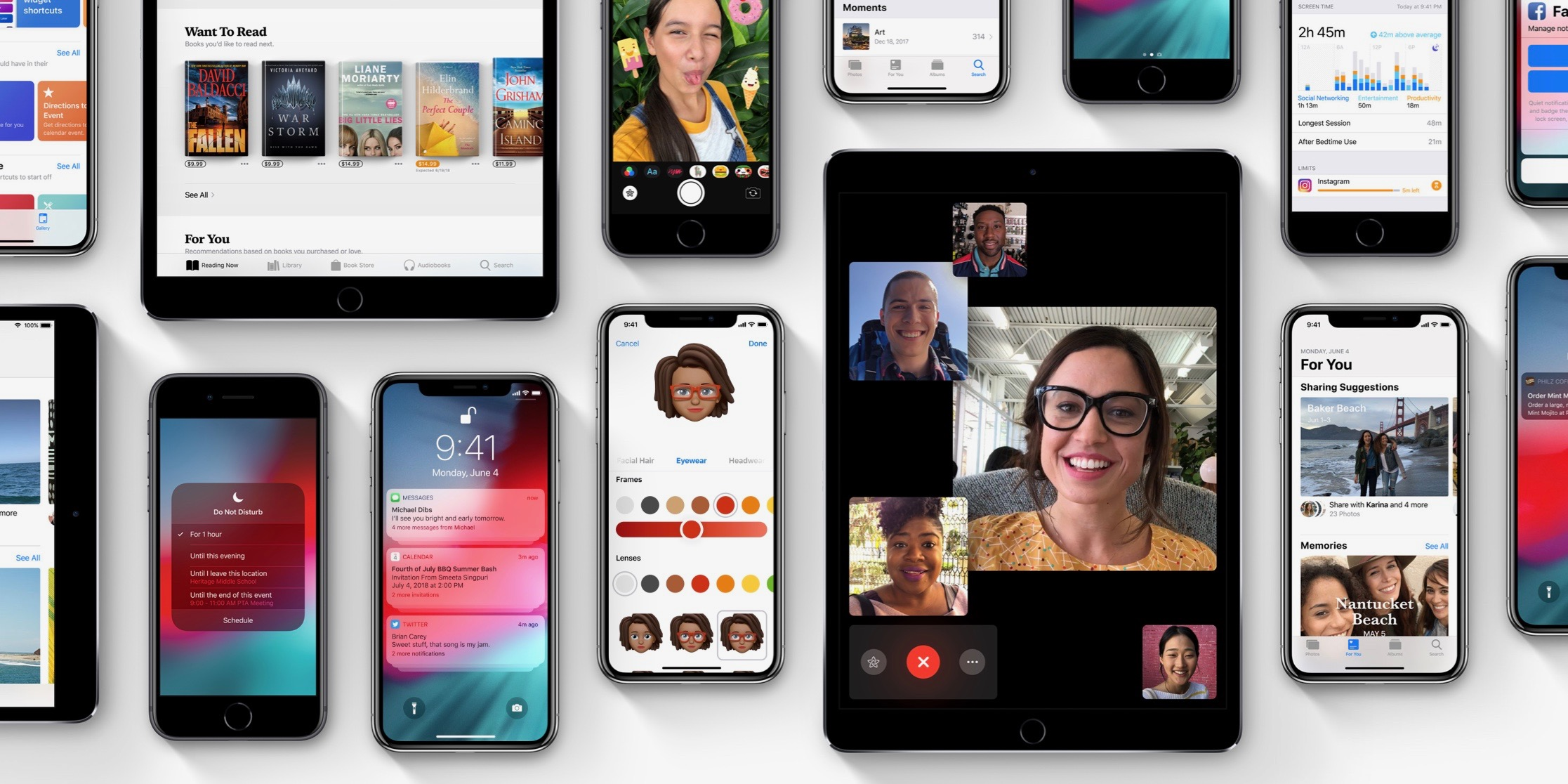 ios 12 is now available with performance boosts screen time smarter notifications much more