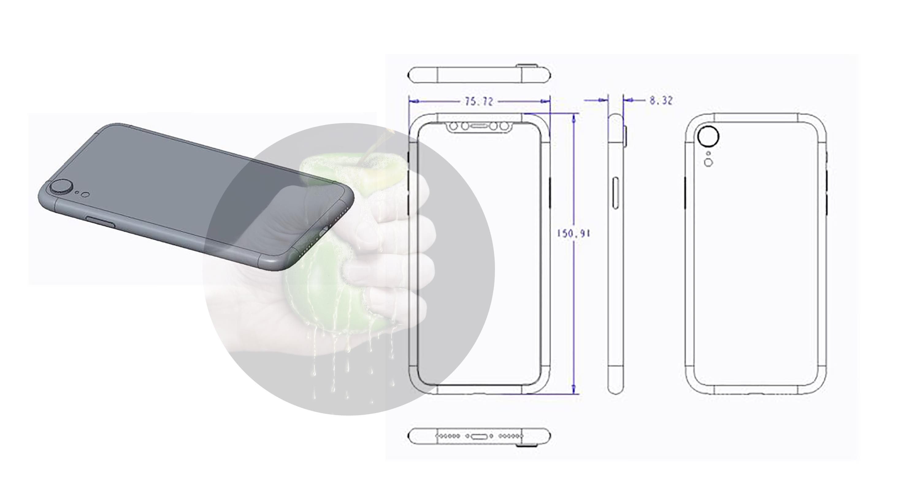 best service dc6ce 425a2 Alleged 'iPhone 9' schematics claim to show entry level 6.1-inch LCD ...