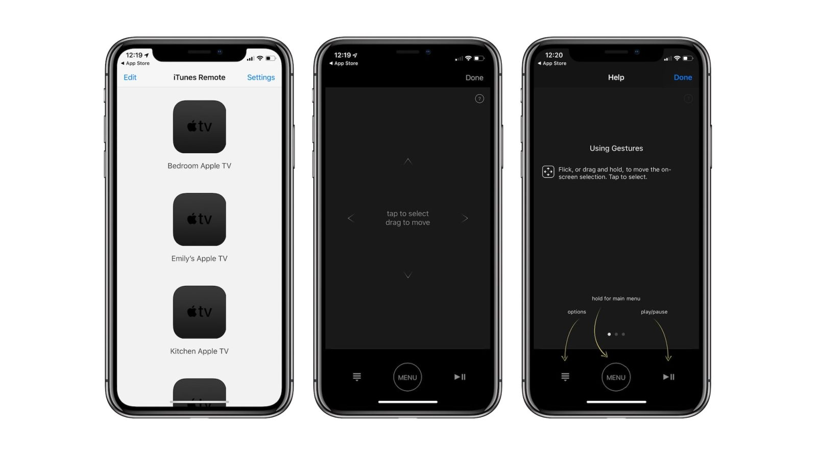 iTunes Remote updated for iPhone X, new icon and design