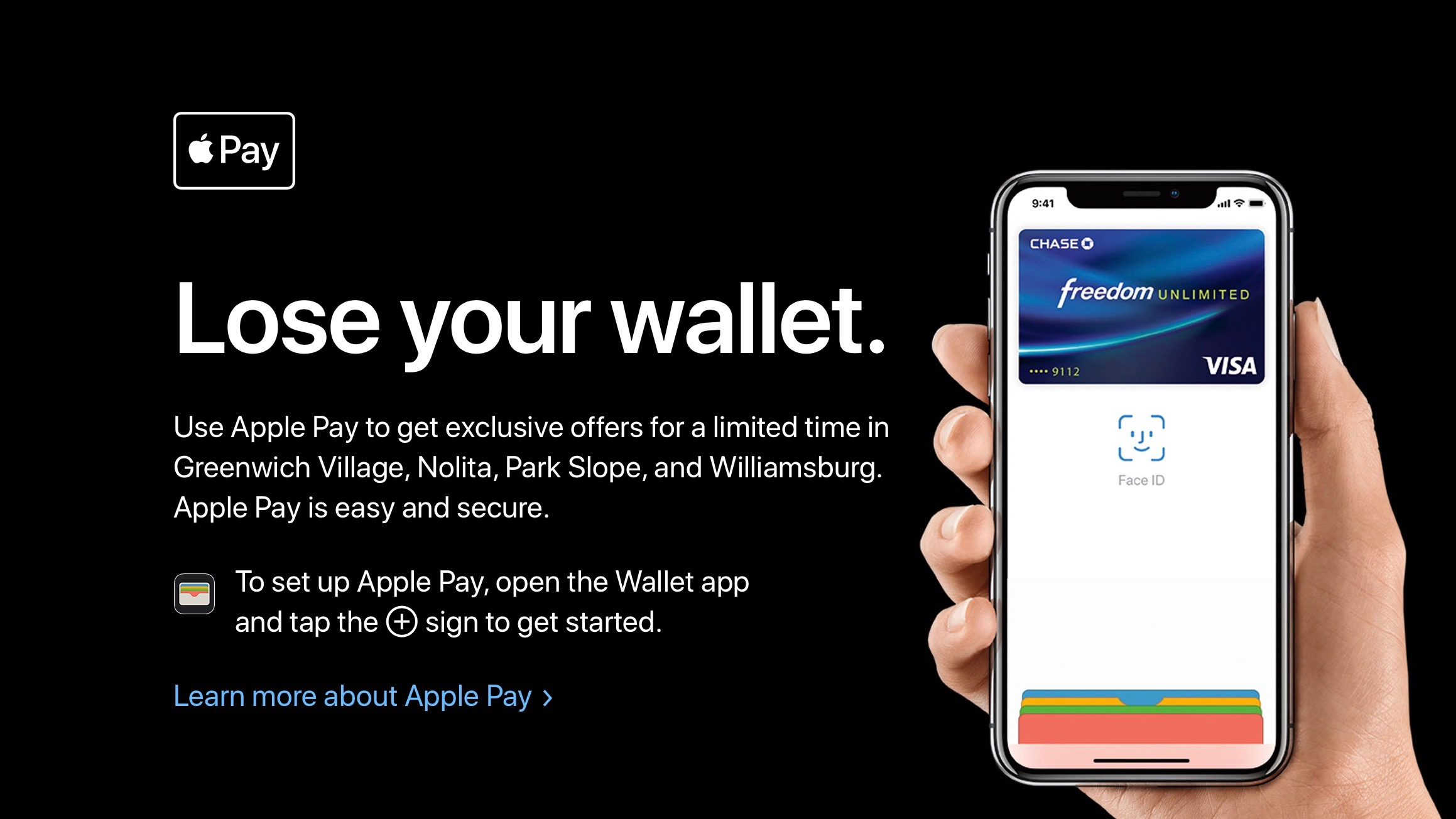 Apple holding 'Lose your wallet' Apple Pay shopping event w/ exclusive discounts in New York City