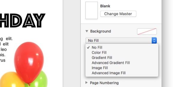How to change background color in Pages - 9to5Mac