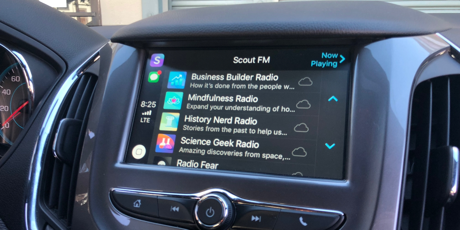 Apple acquires Scout FM app that transforms the podcast experience with smart stations - 9to5Mac